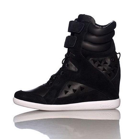 Wedge ReebokAlicia Keys Sneaker Top Black High xoedBC